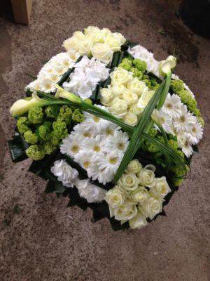 Damier de fleurs
