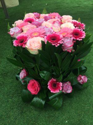 Bouquet de fleurs Brassée