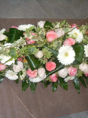Raquette de fleurs