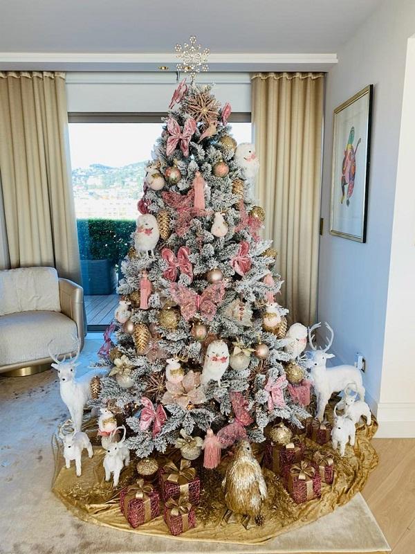 Sapin de Noël décoration A Nos Racines