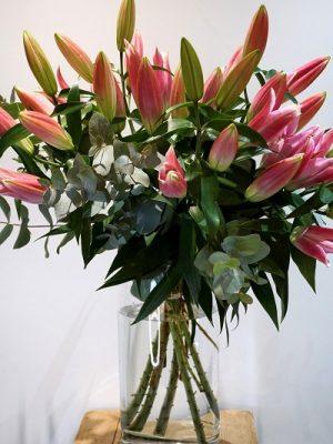 Bouquet de Lys Oriental A Nos racines