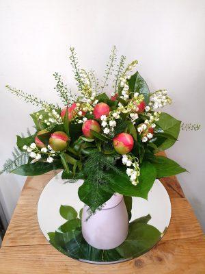 Bouquet de muguet taille M